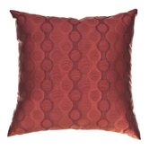 "Liona 18"" Pillow in Sangria"