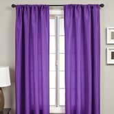 Bella Kids Rod Pocket Panel in Purple