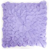 Blooming Bud Pillow in Lavender