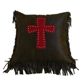 Cheyenne Cross Pillow in Red
