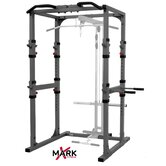 Commercial Power Cage with Dip Station and Pull Up Bar