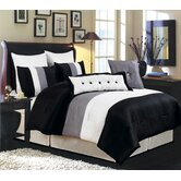 LaCozee Classic 8 Piece Oversized Comforter Set