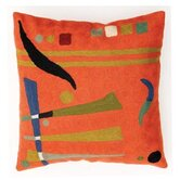 Orange Abstract Cushion Cover