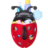 Bug Pod Bath Toy Scoop in Red