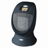 "Honeywell 14"" 1500W Black Ceramic Heater HZ-338"