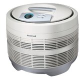 Air Purifier,3-Speeds,225 Sq Ft. Cap.,18&quot;x18&quot;x15-1/8&quot;,White
