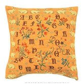 French Tapestry Cotton Dagobert Pillow