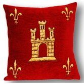French Tapestry Cotton Sainte Chapelle Pillow