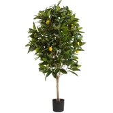 "72"" Artificial Lemon Tree"