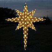 3D Moravian Star in Warm White