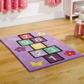 Kiddy Play Hopscotch Multi Kids Rug