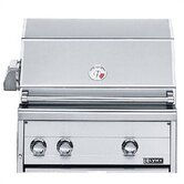 "27"" Professional Built-In Grill with Rotisserie"