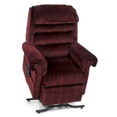 PR-756MC Relaxer Medium Infinite Position Lift Chair - without Head Pillow