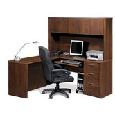 "Embassy 66"" L-Shaped Desk Office Suite"