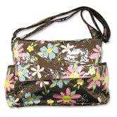 Blossoms Messenger Diaper Bag