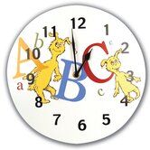Dr Seuss ABC Wall Clock