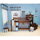 Max Four Piece Crib Bedding Set &amp; FREE  Picture Frame Set