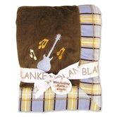 Rock Star Framed Receiving Blanket