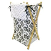 Versailles Hamper Set in Black and White
