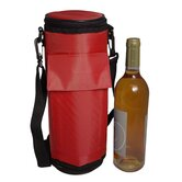 Re-Freezable Wine Bottle Cooler in Red