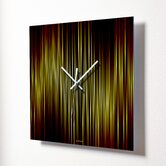 Lineas Fire Wall Clock