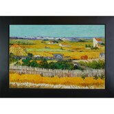 The Harvest Canvas Art by Vincent Van Gogh Impressionism