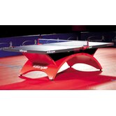 Revolution Table Tennis Table in Blue / Red