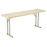 "18"" x 72"" Blow-Molded Folding Table"