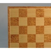 "15"" Camphor and Maple Veneer Chess Board"