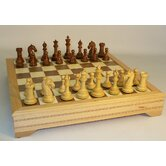 Sheesham Camelot with Chest Chess Set