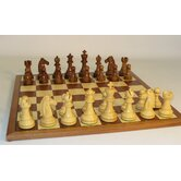 Sheesham Mustang on Sapele Chess Board