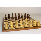 Sheesham Pro on Sapele Chess Board
