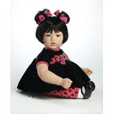 Baby Doll &quot;Black Velvet&quot; Black Hair / Brown Hair
