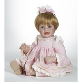 Baby Doll &quot;Rosebud&quot; Blonde Hair / Blue Eyes