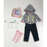"18"" Doll Clothes Girl Scout Trendy Ensemble"