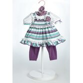 20&quot; Baby Doll Grape Soda Costume