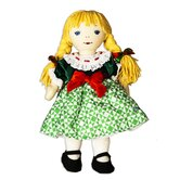 Christmas Janet Doll in Jim Shore Designed Dress