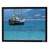 PearlBrite Vu-Easy Fixed Frame Screen - 100&quot; diagonal Video Format
