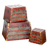 Pyramid Trunk (Set of 3)