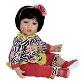 Adora &quot;Zebra Rose&quot; Doll with Black Hair / Brown Eyes