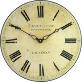Antique Style Lascelles Pub Wall Clock