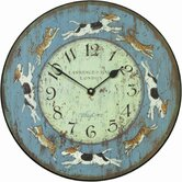 Playtime for Cats and Dogs Wall Clock