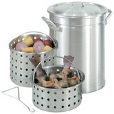 Stockpots and Steam / Boil / Fry Baskets