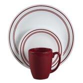 Livingware Classic Cafe 16 Piece Dinnerware Set