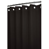 Dorset Solid Large Grommet Shower Curtain