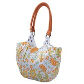 Natural Wild Orange Cotton Tote Bag