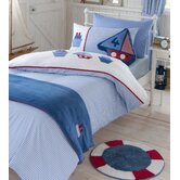 Sailing Boats Duvet Cover Set