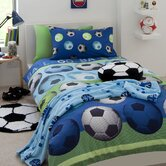 Football Bedding Collection in Blue