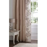 Deco Rose Polyester Curtains
