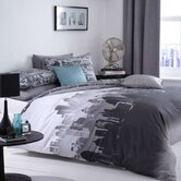 CL Home City Scape Quilt Set